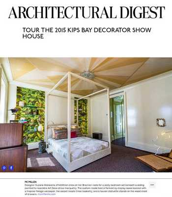 Architectural Digest cover image